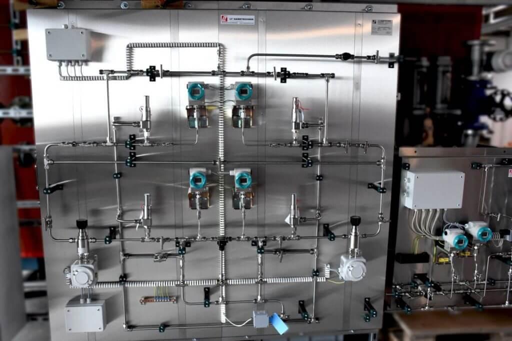 SO2 Versorgungsanlage - Druckregulierstation