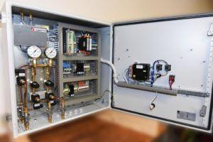 Automatische Gasmischer Umschaltung