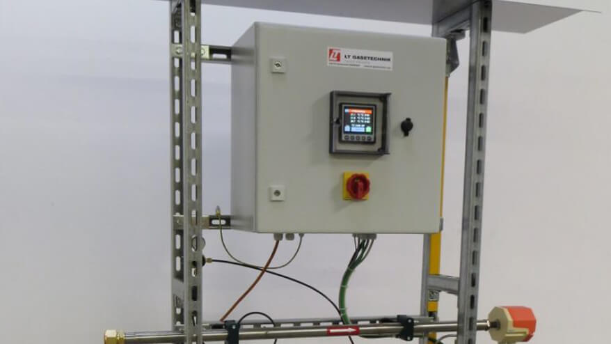 tieftemperaturabschaltung mit gasvorwärmer
