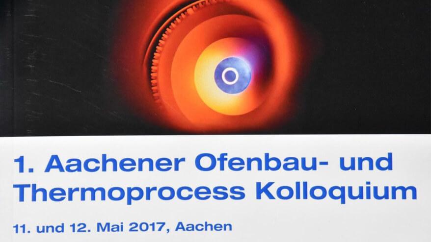 Werbung für das erste Aachener Ofenbau- und Thermoprocess Kolloquium
