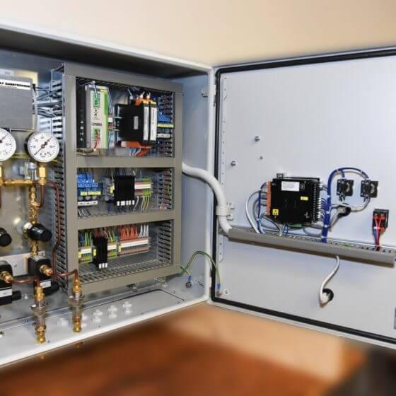 Automatische Gasmischer-Umschaltung