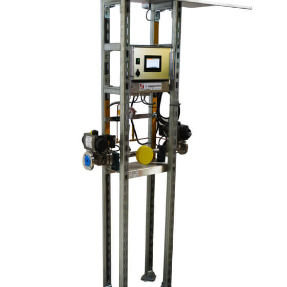 Conmutación automática del evaporador de aire con un gran techo