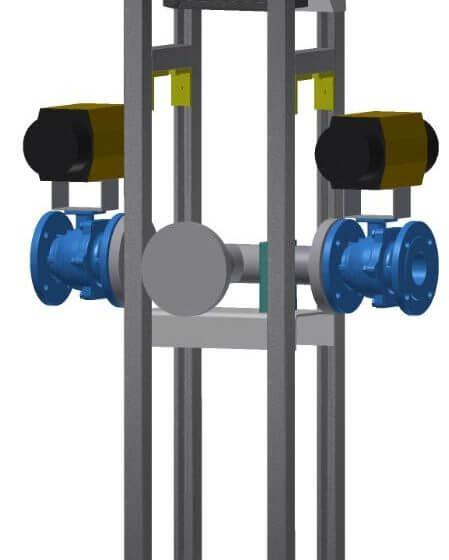 Cambio automático del vaporizador de aire