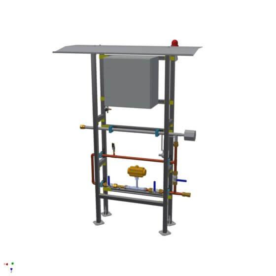 Tieftemperatur-Abschaltung mit Strömungserhitzer