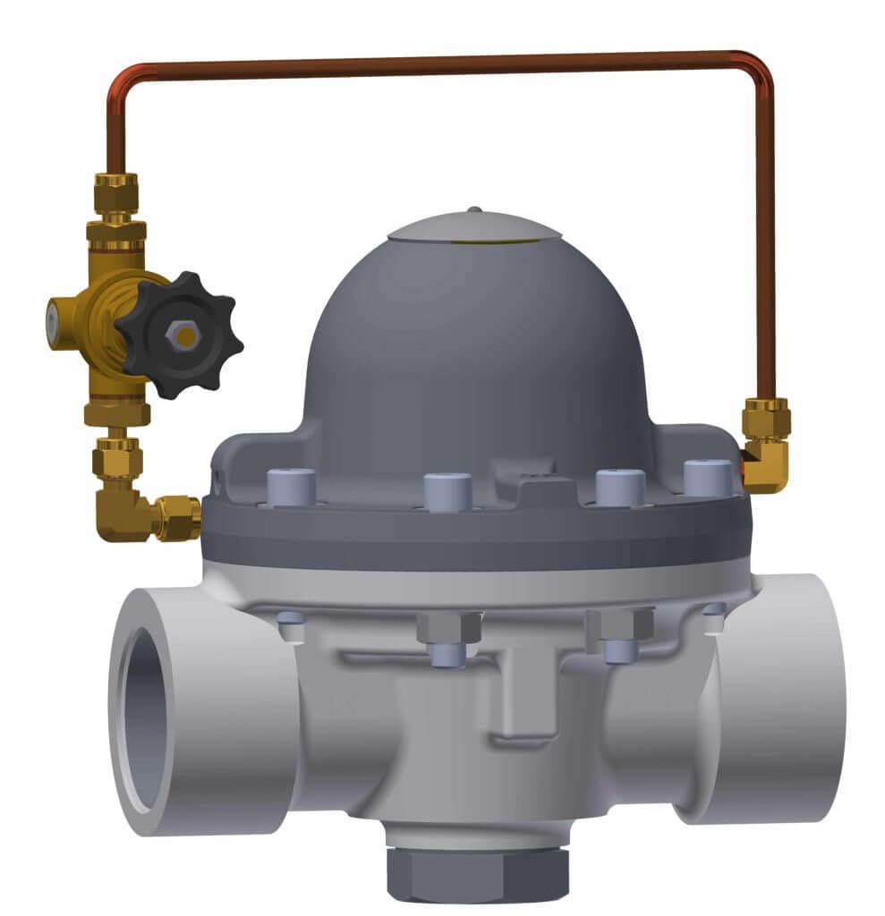 dome pressure control unit