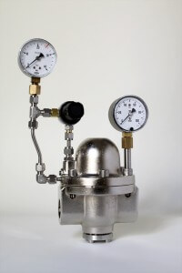 nickel-plated dome pressure control unit type 4