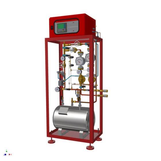 Mélangeurs de gaz en série de LT GASETECHNIK