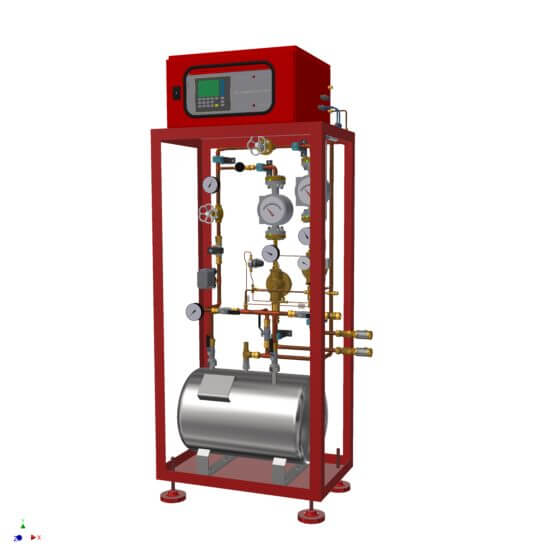 Mezcladores de gas en serie de LT GASETECHNIK
