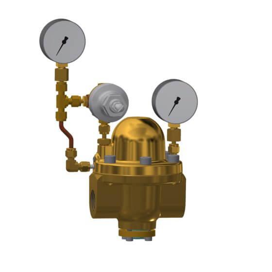 Unité de contrôle de la pression du dôme de type 3