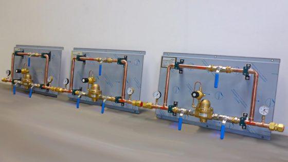 Tres estaciones reguladoras de presión de LT GASETECHNIK