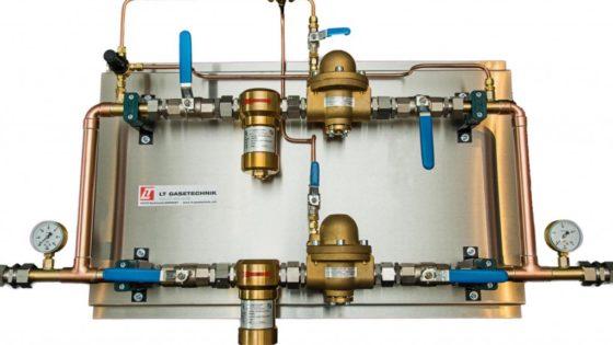 Línea de regulación de presión de LT GASETECHNIK