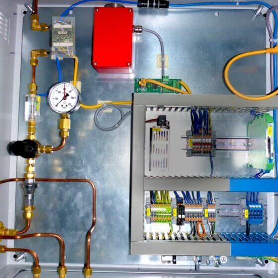 Innenansicht LT GasAnalysator