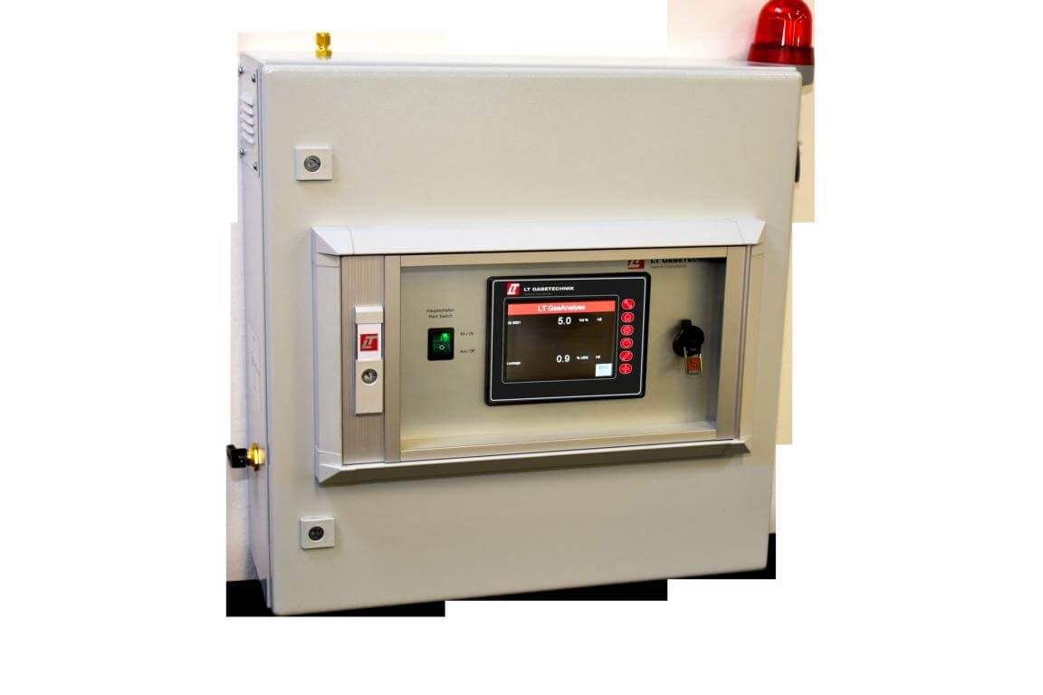 LT GasAnalysator zur Wandaufhängung