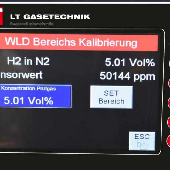 Touch-Screen-Ansicht mit WLD-Kalibrierung